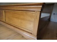 Solid Oak Super Kingsize Bed Frame