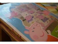Peppa Pig Single Duvet and Pillow Set - Reversible. BRAND NEW