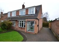 ** 3 Bedroom Semi-Detached Property In Popular Village Of Keyworth **