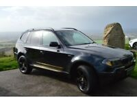 BMW X3 Black, full Leather, tuning, 2L Diesel