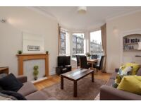 Bright and Spacious Fully Furnished 2 Bedroom Flat Easter Road Area