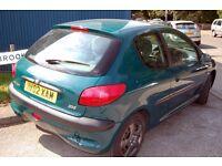 swap peugeot 206 diesel for a Renault scenic 1.6 petrol