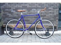 Brand new Hackney Club single speed fixed gear fixie bike/ road bike/ bicycles + 1year warranty qt99