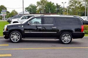 2012 Cadillac Escalade ESV PLATINUM EDITION -- BLACK ON BLACK