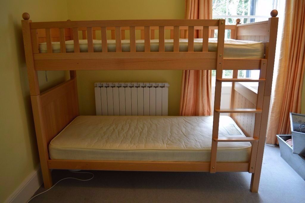 Bunk Beds Aspace New England Beech Bunk Beds In Brough East