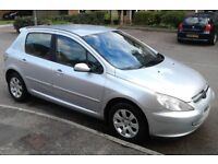 54 Plate Peugeot 307s 5 Door, New MOT, Ideal Family Car, Full Service History, Superb £1575