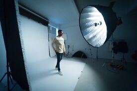 PHOTOGRAPHY STUDIO TO HIRE! £65 FOR 4 HOURS, BIRMINGHAM CITY CENTRE.
