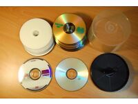 40 RECORDABLE DVDs +/- 4.7G each