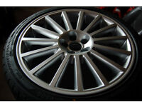 VW Volkswagen MK4 Golf R32 Aristo Style Alloy Wheels 5x100 18 inch BRAND NEW ALLOYS and Tyres- RIMS