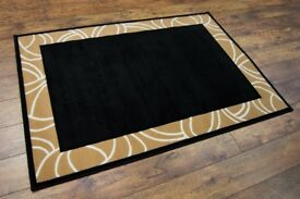 "Rugs Carpets Clearance Patterned 3 Sizes 8 Colours MAYER ""Arc"""