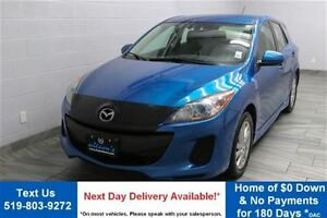2012 Mazda MAZDA3 GS-SKYACTIV! HATCHBACK! HEATED SEATS! ALLOYS!