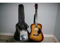 Encore Acoustic Guitar Package
