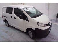 NISSAN NV200 1.5 DCI Crew Van - 5 Seats, Bluetooth, AUX, Electric Windows, Remote Central Locking