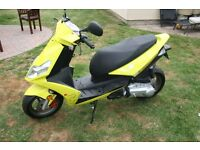 Moped 50 ccc Brand New Automatic , Front disc brakes , Mirrors , indicators