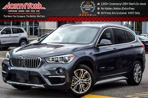 2016 BMW X1 xDrive28i|CleanCarProof/1-Owner|PanoSunroof|RearCa