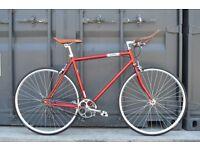 Brand new single speed fixed gear fixie bike/ road bike/ bicycles + 1year warranty & free service nq