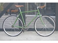 Hackney Club single speed fixed gear fixie road bike/ bicycles + 1year warranty & free service ww5