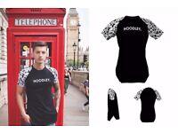 Beautiful Brasilian London style Tshirt. Brand: Hoodley. 100% Cotton.