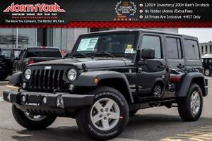 2016 Jeep WRANGLER UNLIMITED NEW Car|Sport 4x4|Power Grp|Cruise|