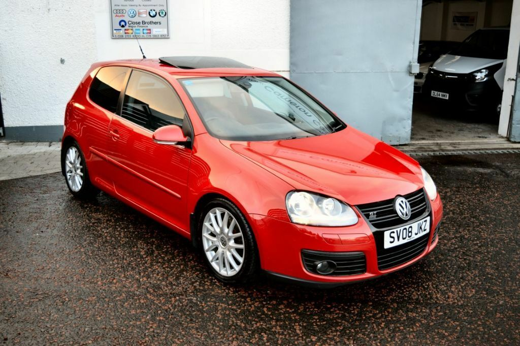2008 golf gt 170 sport tdi 3dr tornado red xenons h leather fsh finance available in. Black Bedroom Furniture Sets. Home Design Ideas