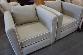 Grey modern armchair (2x available)