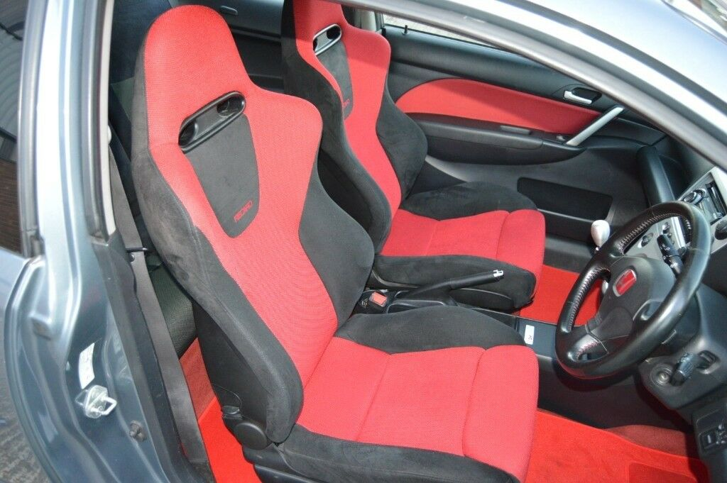 Honda Recaro Premier Edition Seats from Civic Type R ep3 ...