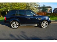 "Range Rover Sport HSE , 22"" Alloys, Beige leather , Rare Midnight Blue colour,"