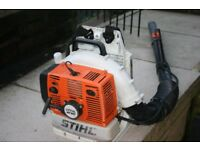 Stihl BR380 backpack blower in excellent condition