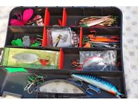 Fishing lures and spinners