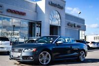 2011 Audi S5 Premium Convertible Driver Assist, Nav & Wheel Pkg