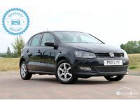 2011 Volkswagen POLO 1.2 5dr £5595