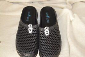 Leda mens Cloggs-Crocs