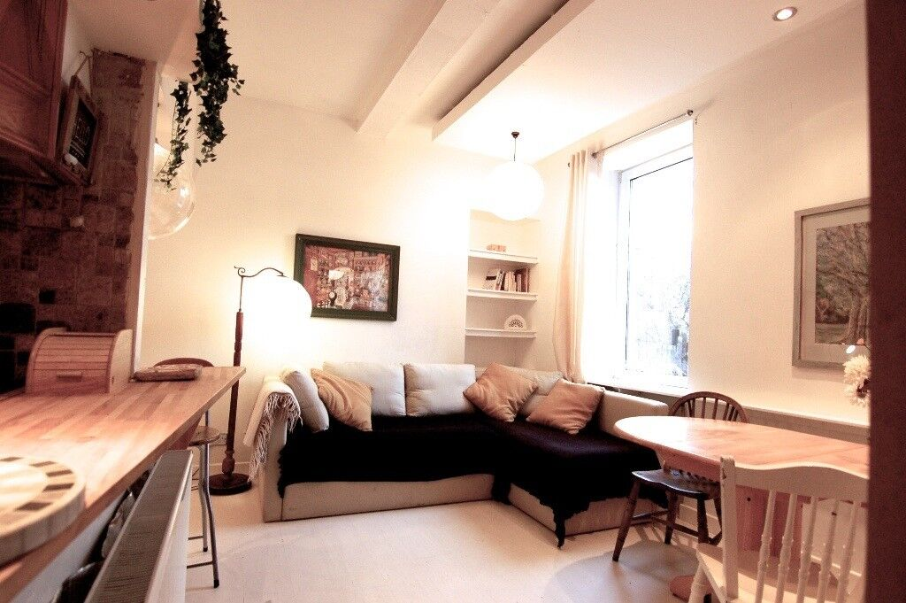 Bright Spacious Flat with Garden