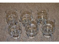 6 Lovely whiskey/water glasses