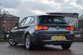 BMW 1 series 116D 2015 EfficientDynamics 1.5 sat nav reverse sensors free road tax