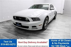 2014 Ford Mustang GT w/ 10,000KM! 6-SPEED! LEATHER! 19 ALLOYS! S