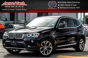 2016 BMW X3 xDrive28i|Premium,DrvrAsst,LightingPkgs|Sunroof|Na