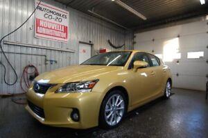2012 Lexus CT 200h AUBAINE LE MOINS CHERE,JAMAIS ACCIDENTE , CUI