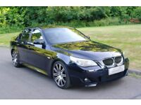 2005/55.. BMW 530d M Sport.. Tiptronic Automatic.. Diesel.. Low Miles.. FSH.. Stunning Example..