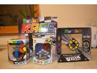 4 Different New Rubik Puzzles to sell