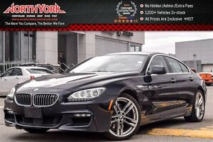 2013 BMW 6 Series 650i Loaded|xDrive|MSport Pkg|Sunroof|360Cam|N