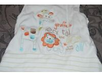 Baby Sleeping bags various sizes0-6 months, 6-12 months & 6-18 months