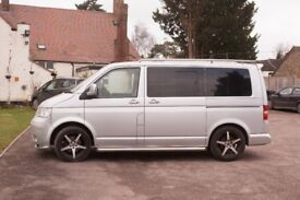 V.W. transporter T5 T26 84 TDI S.W.B.Fully Tinted windows all round with window sliders,with extra's