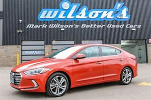 2017 Hyundai Elantra LIMITED  $62/WK, 5.89% ZERO DOWN! LEATHER!