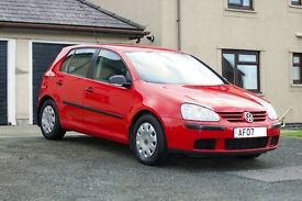 VW golf mk5 2.0 SDI, diesel, Volkswagen, full MOT, FSH, just serviced, new tyres, great condition,