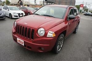 2009 Jeep Compass Sport  |  ONLY 78K KM  |  CLEAN CARPROOF  |