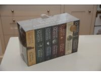 Game of Thrones books box set, Vol 1-7, unopened, with map