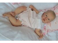 Reborn Baby Girl Lifelike Newborn Doll on ebay