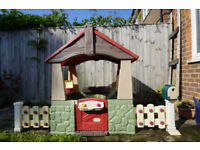 Used Little Tikes Home and Garden Playhouse