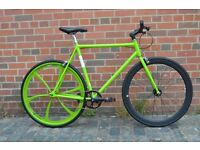 Brand new single speed fixed gear fixie bike/ road bike/ bicycles + 1year warranty & free service 1l